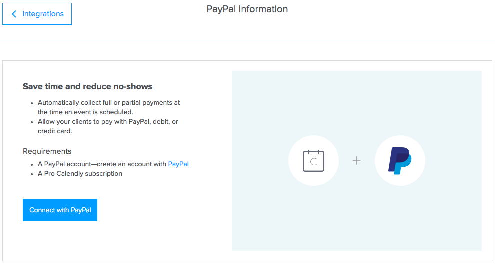PayPal – Help Center - Calendly