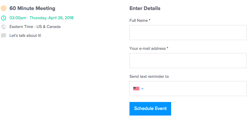 Invitee Notifications – Help Center - Calendly